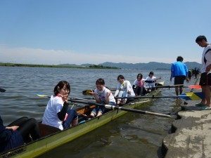 西8チーム出艇