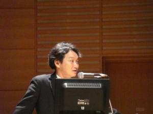 近藤英生先生発表