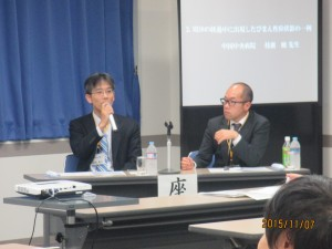 内科レジデントカンファレンス2015 in OKAYAMA (司会:松岡賢市先生,二宮崇先生)