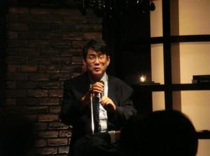 忘年会2015_木浦勝行先生御挨拶