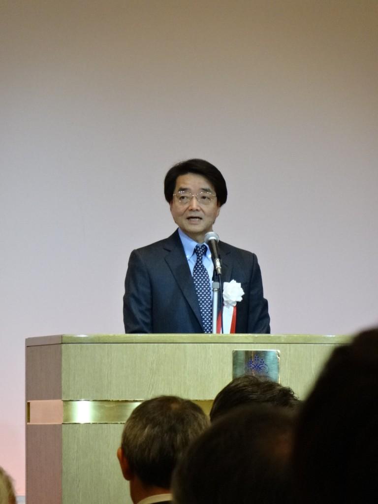 谷本光音教授就任15周年記念祝賀会(金廣有彦先生御挨拶2)