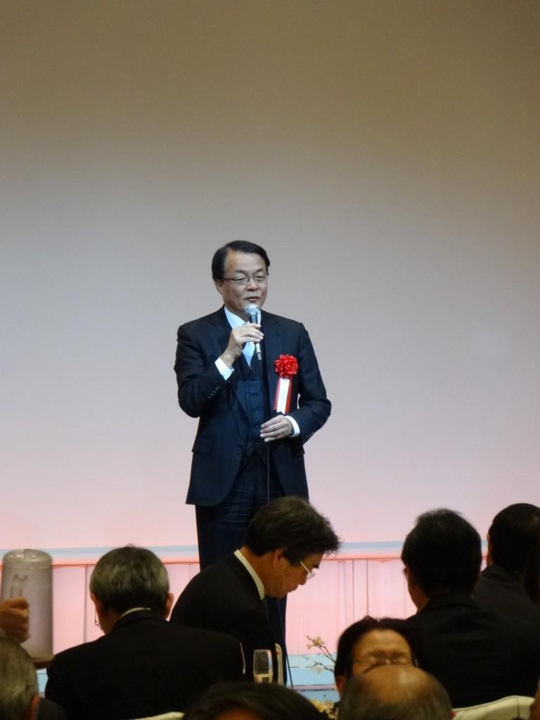 谷本光音教授就任15周年記念祝賀会(吉野正先生御祝辞)
