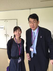 JSMO2016 木浦勝行先生と磯崎英子先生
