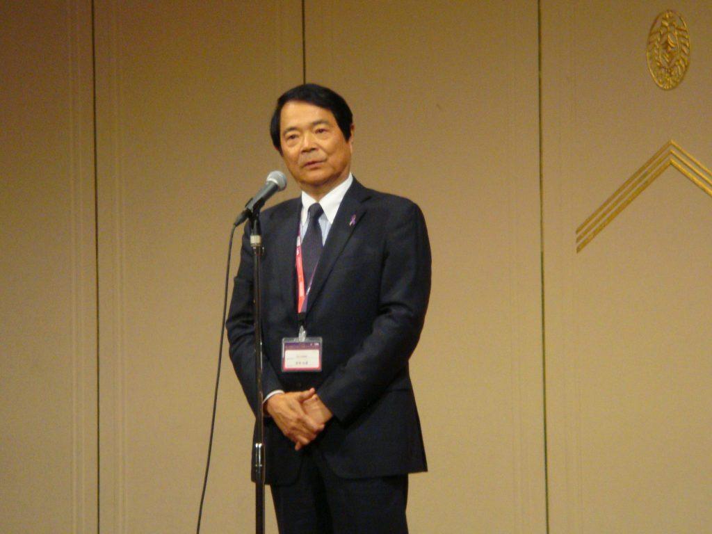 JSMO2016 谷本光音先生ご挨拶