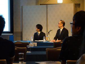 妹尾賢先生,藤原慶一先生