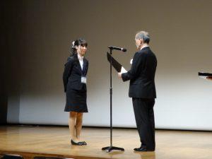 3学会合同地方会(安東愛理さん,優秀演題賞受賞)