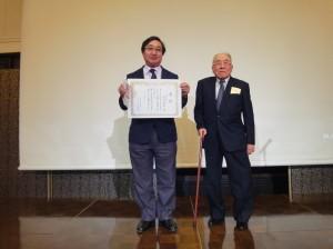 平成28年度岡山大学第二内科同門会(同門会賞:米井敏郎先生)