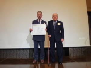 平成28年度岡山大学第二内科同門会(同門会賞:杉本啓介先生)
