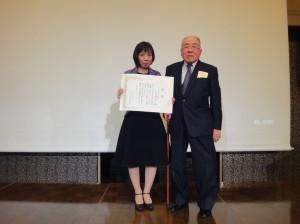 平成28年度岡山大学第二内科同門会(同門会賞:荒川裕佳子先生)
