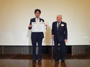 平成28年度岡山大学第二内科同門会(同門会賞:名和由一郎先生)